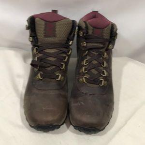 Timberland brown Norwood mud hiking boots